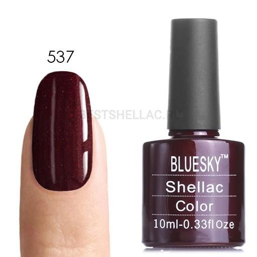 Bluesky Shellac 40501/80501 Гель-лак Bluesky № 40537/80537 Dark Lava, 10 мл 537.jpg