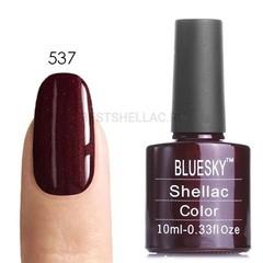Гель-лак Bluesky № 40537/80537 Dark Lava, 10 мл