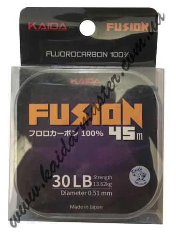 Леска флюорокарбоновая KAIDA FUSION 50 м; 0,38 мм