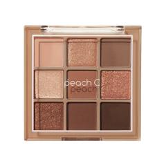 Палетка теней Peach C Soft mood Eye Shadow Palette Brown 66g