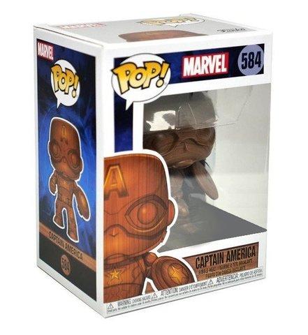 Фигурка Funko POP! Bobble: Marvel: Marvel: Captain America (WD) (Exc) 45048