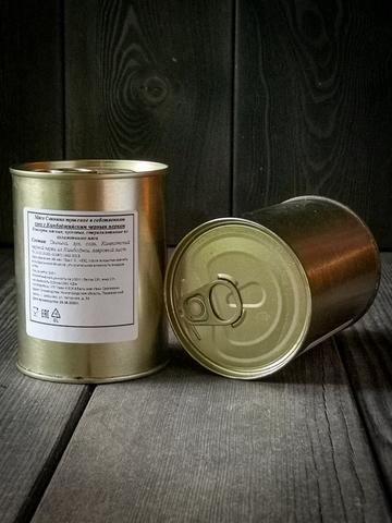 КОРОБКА (10 шт) Свинина тушеная в собственном соку в ж/банке