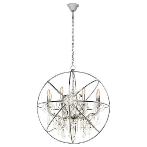 Подвесная люстра Loft it Foucaults orb crystal LOFT1896/8