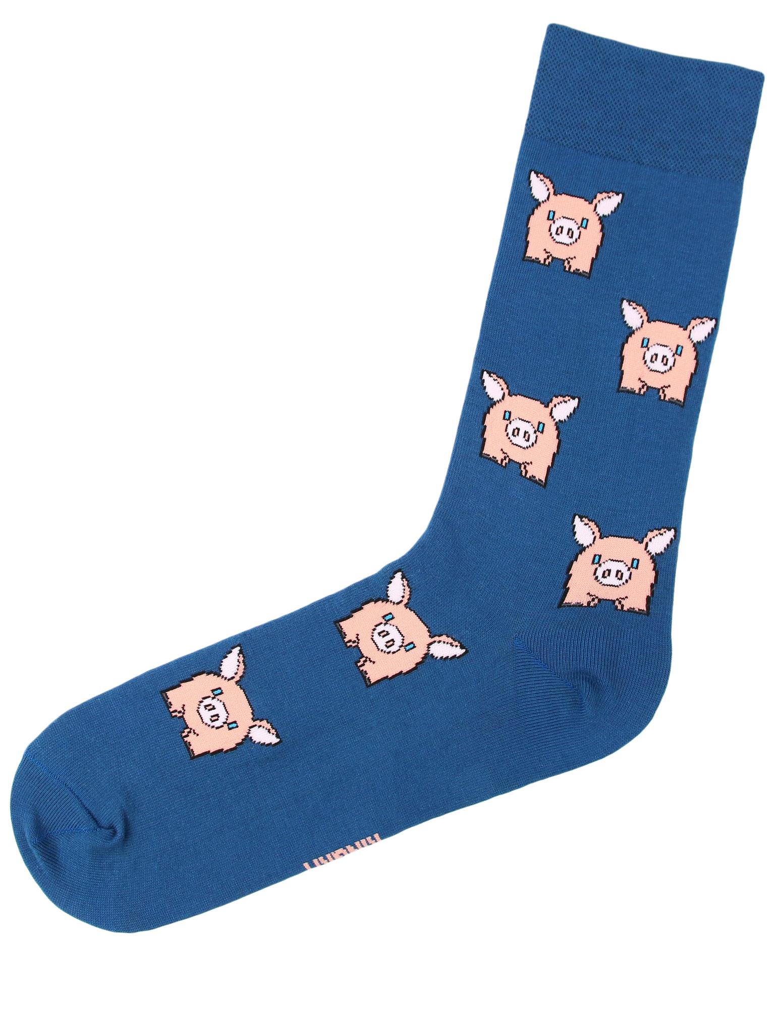 Свинья синяя