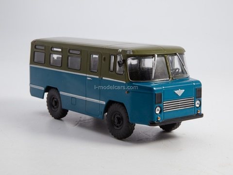 AS-38 (38AS) base GAZ-66 special army 1:43 Modimio Our Buses # 27