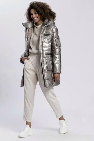 Marc Aurel Куртка -пальто со стальным блеском