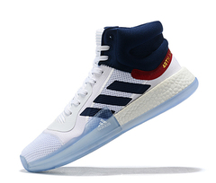 adidas Marquee Boost 'White/Navy-Power Red'