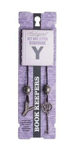 Bookmark Book Keepers Letter - Y