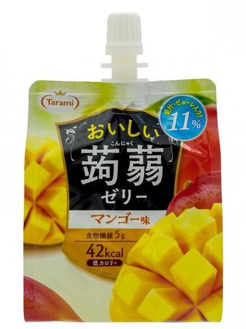 Желе питьевое Tarami Конняку со вкусом Манго 150 гр.