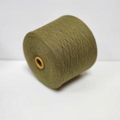 Lambswool, Шерсть ягненка 100%, Зеленый инжир (оливково зеленый меланж), 1/16, 1600 м в 100 г