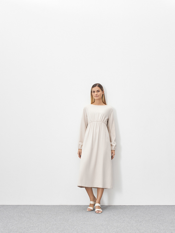 Платье Angela с резинкой на талии