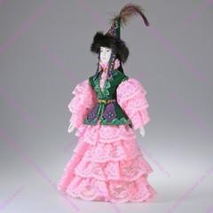 Сувенирная кукла в казахском костюме