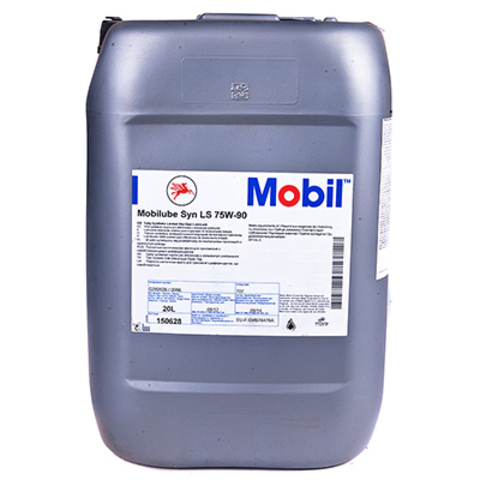 Купить на сайте официального дилера HT-OIL.RU MOBIL DELVAC 1 GEAR OIL LS (MOBILUBE SYN LS) 75W-90 трансмиссионное масло для МКПП синтетическое артикул 153467, 150628 (20 Литров)
