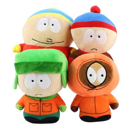Саус Парк набор игрушек 5 штук 20 см