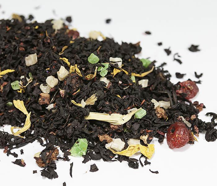TEA-AR112 Черный ароматизированный чай «Сокровища Карибского Моря» (50 гр)