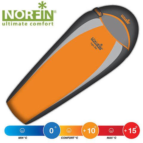 Спальник NORFIN Light 200 Sport (молния справа)