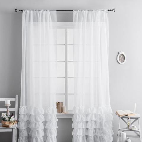 Комплект штор Фрезия белый