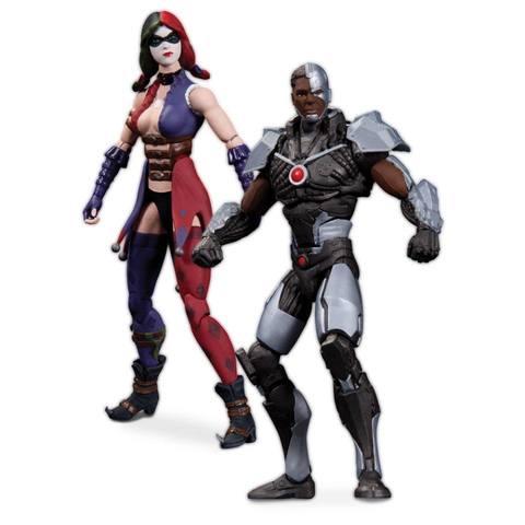 Injustice: Cyborg & Harley Quinn 3.75