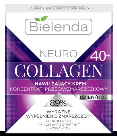 NEURO COLLAGEN Увлажняющий крем - концентрат против морщин 40+ дневной/ночной 50мл
