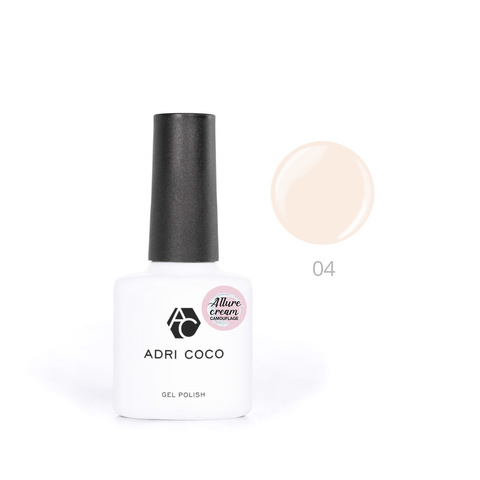 Гель-лак ADRICOCO Est Naturelle №04 камуфлирующий светло-персиковый (8 мл.)