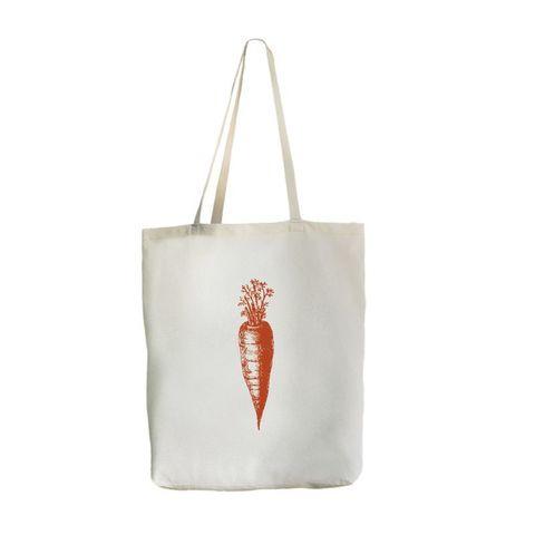Экосумка с карманом Big-bag Морковь, 46х41 см