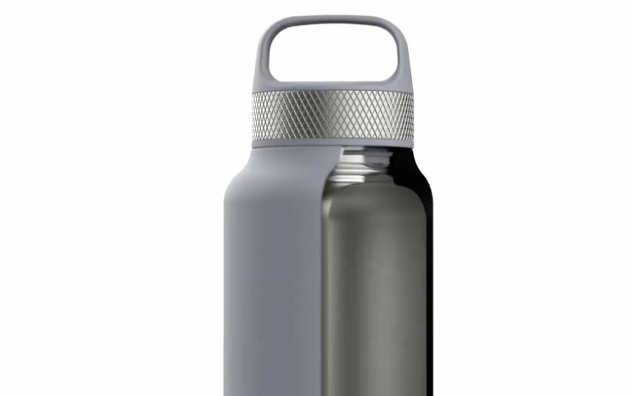 """Термобутылка Sistema """"Hydrate"""" 1 л, цвет Серый"""