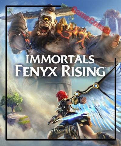 Плакат игровой IMMORTALS FENYX RISING (А1)