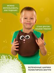 Подушка-игрушка антистресс Gekoko «Кот Шоколадка» 3