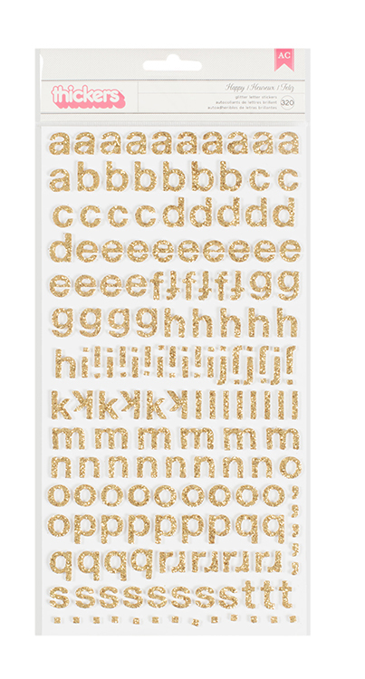 Набор стикеров алфавит  Bloom Collection by Maggie Holmes