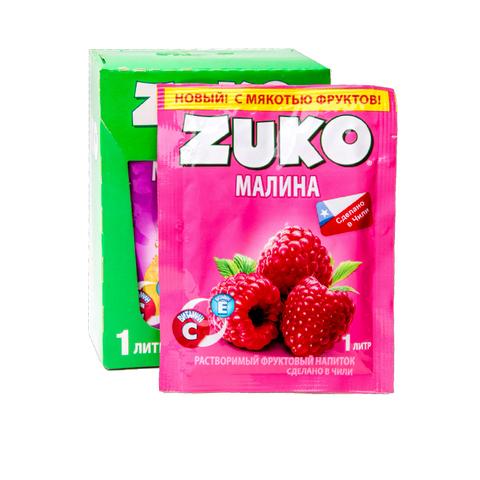 Растворимый напиток ZUKO Малина  25г*12шт*8 бл