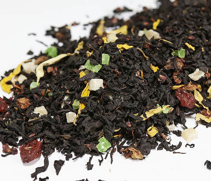 TEA-AR112 Черный ароматизированный чай «Сокровища Карибского Моря» (50 гр) фото 03