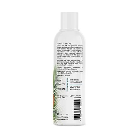 Кокосова олія косметична Coconut Oil Tink 100 мл (4)