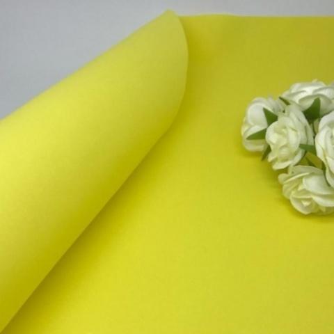 Фоамиран зефирный. Цвет: Желтый 006