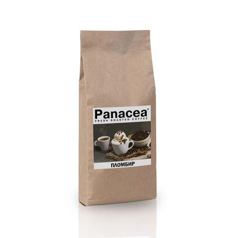 Ароматизированный кофе в зернах Panacea.Пломбир