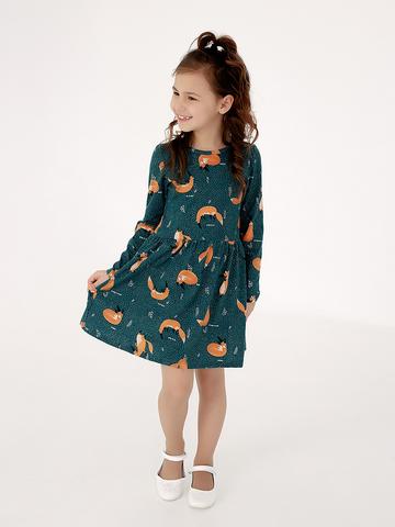 Платье Эля дикие лисы