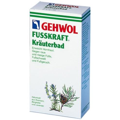 Травяная ванна GEHWOL Fusskraft Herbal Bath 400 гр