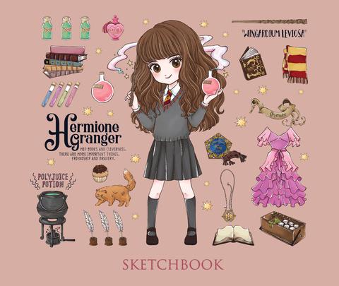 Скетчбук «Гермиона Грейнджер». Коллекция «Cute kids»