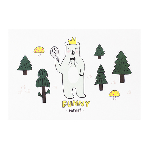 Открытка Happy Forest Медведь