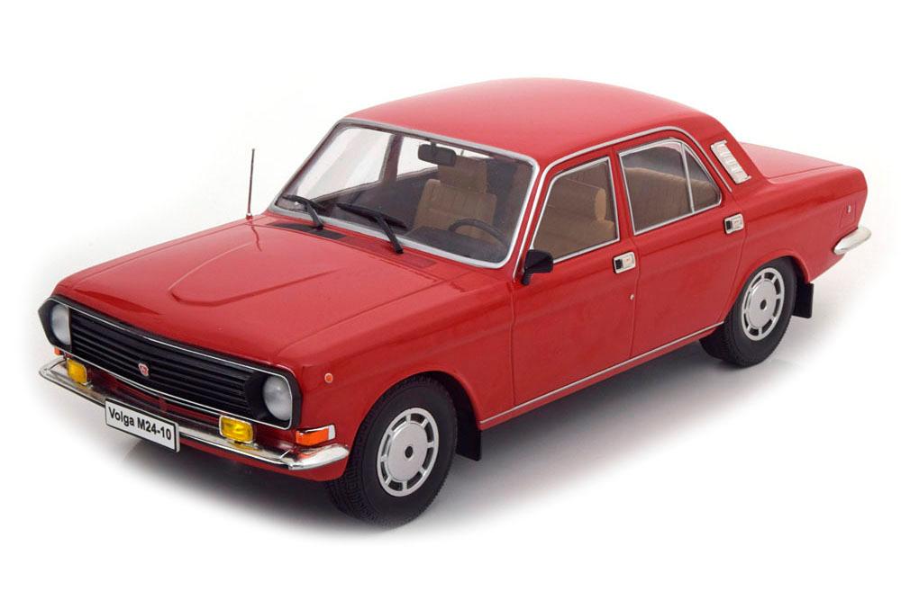 """Коллекционная модель Volga GAZ 24-10 """"Волга ГАЗ 24-10"""" 1985 Red"""