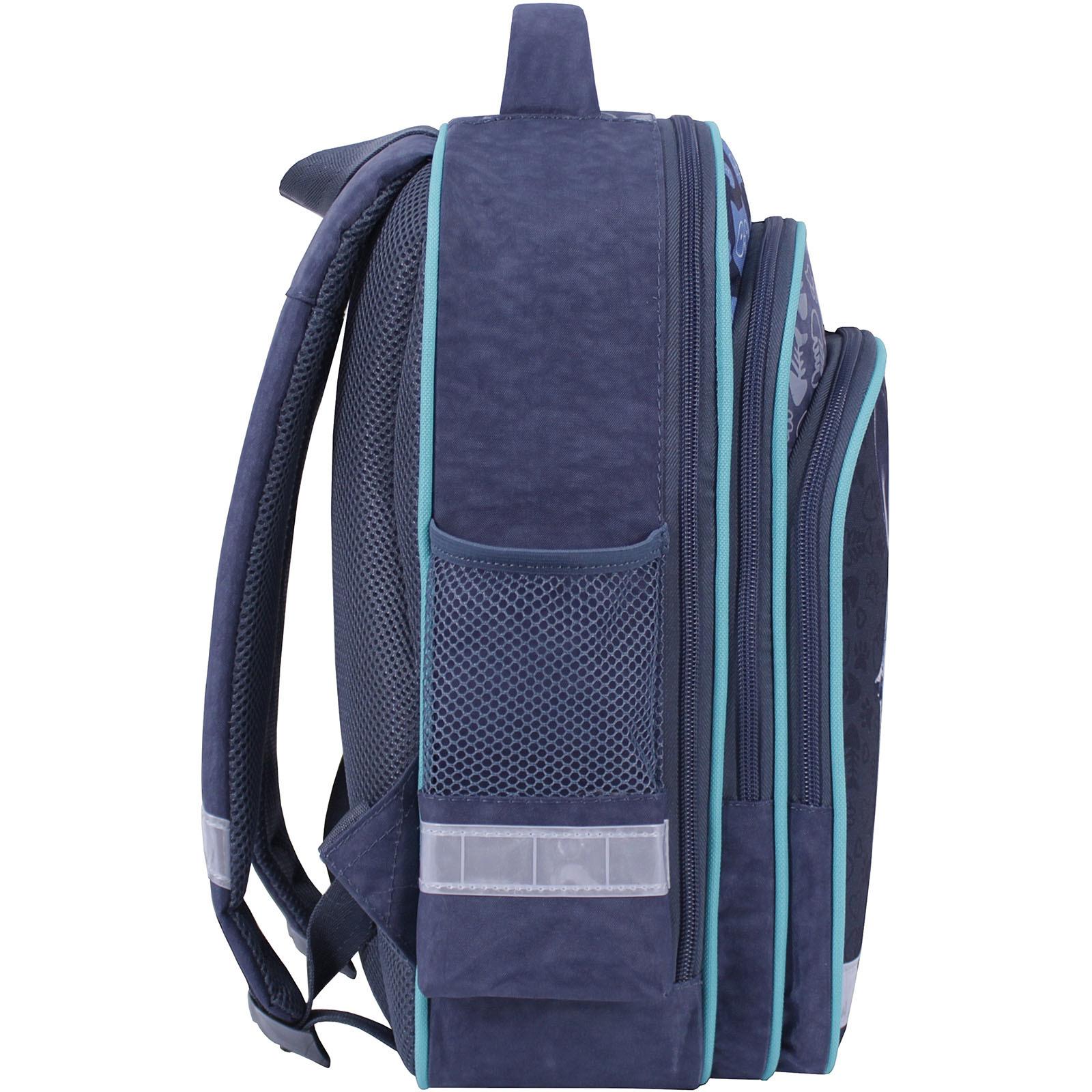 Рюкзак школьный Bagland Mouse 321 серый 611 (0051370) фото