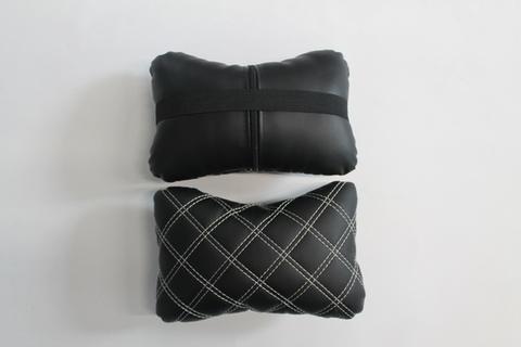 Подушка подголовник Экокожа