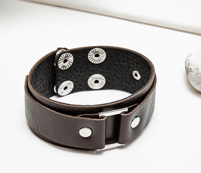 BL799-2 Мужской браслет напульсник ручной работы фото 03