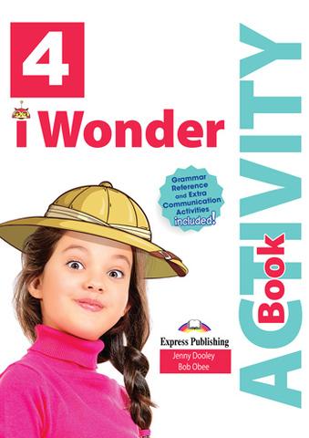 i Wonder 4 - Activity Book (with Digibooks App) - Рабочая тетрадь с электронным приложением