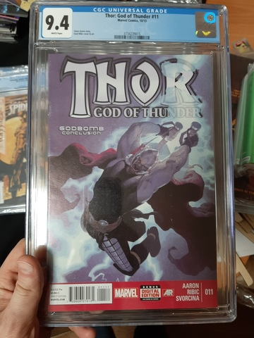 CGC Thor: God of Thunder #11. Состояние 9,4