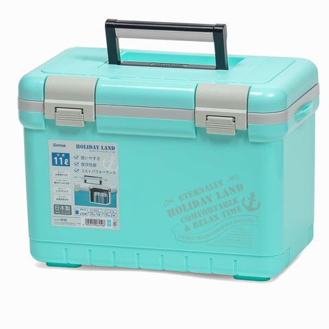 Термобокс SHINWA Holiday Land Cooler 11H синий   /9