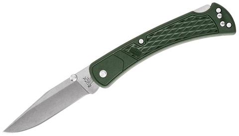 Американский складной нож BUCK 0110ODS2 110 Slim Select OD Green, зелёная рукоять