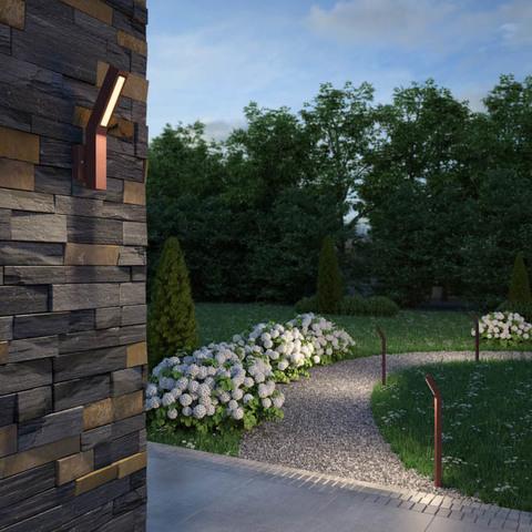 Уличный настенный светодиодный светильник 358056 серии CORNU