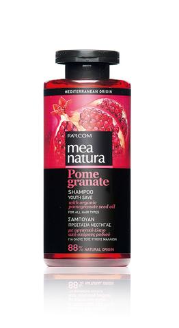 Шампунь MEA NATURA POMEGRANATE для всех типов волос 300 мл