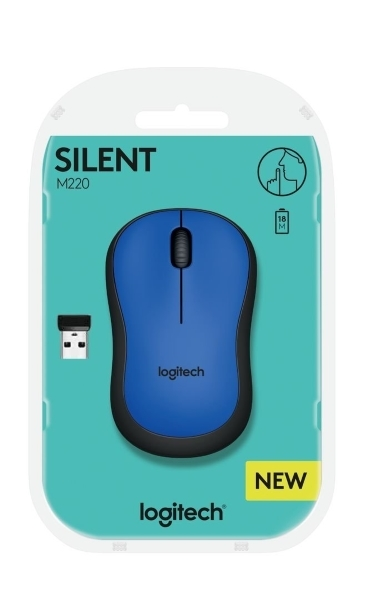 Logitech M220 Silent Blue