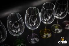 Набор из 6 бокалов для вина с цветным дном «Арлекино», 550 мл, фото 2